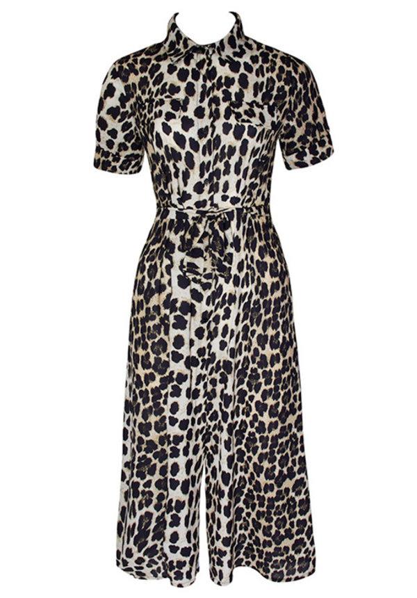 AMY LEOPARD MAXI DRESS