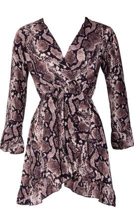 FEMKE SNAKE DRESS