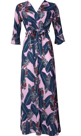 PLEUN HAWAI MAXI DRESS