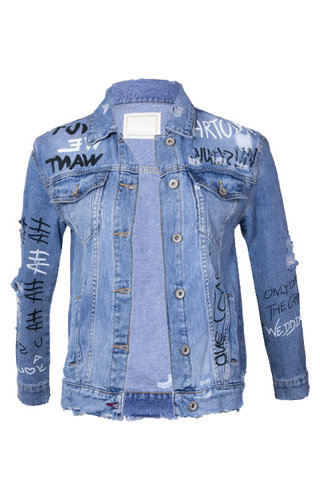 SUMMER BEACH DENIM JACKET