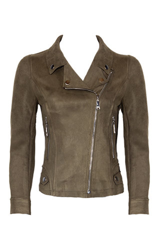 JACKIE SOFT SUEDE JACKET