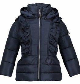 Le Chic Short Coat Big Ruffle