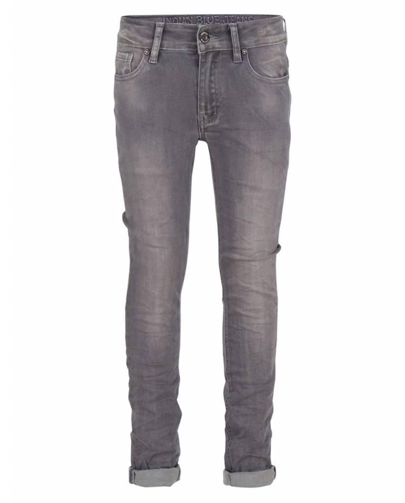 Indian Blue Jeans Grey Ryan Skinny