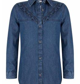 Indian Blue Jeans Denim Shirt