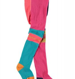 Girls Multi Color Tights