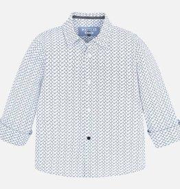 Mayoral L/s printed shirt