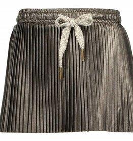 Like Flo Flo Girls Imi Leather Plisse Skirt
