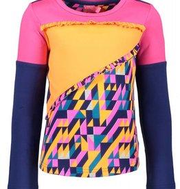 Kidz-art T-Shirt l/s Color Block