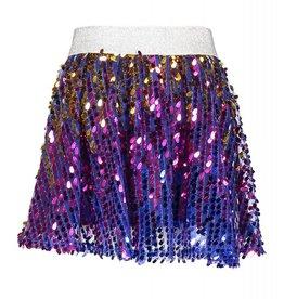 Kidz-art Woven Sequins Skirt