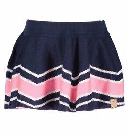B.Nosy Intarsia Knitted Skirt