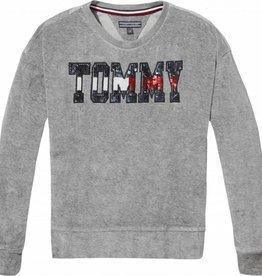 Tommy Hilfiger Sequin Velour Sweats