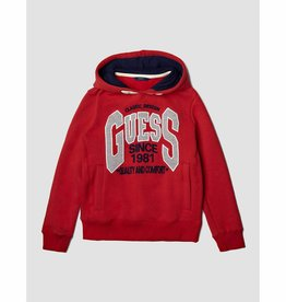 Guess SWEATSHIRT WITH FRONT LOGO