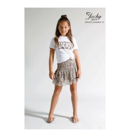 Jacky Luxery Skirt With Ruffle