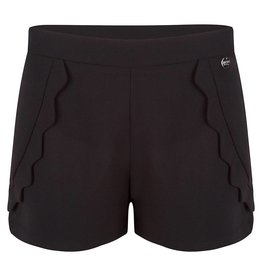 Jacky Luxery Shorts With Scallops
