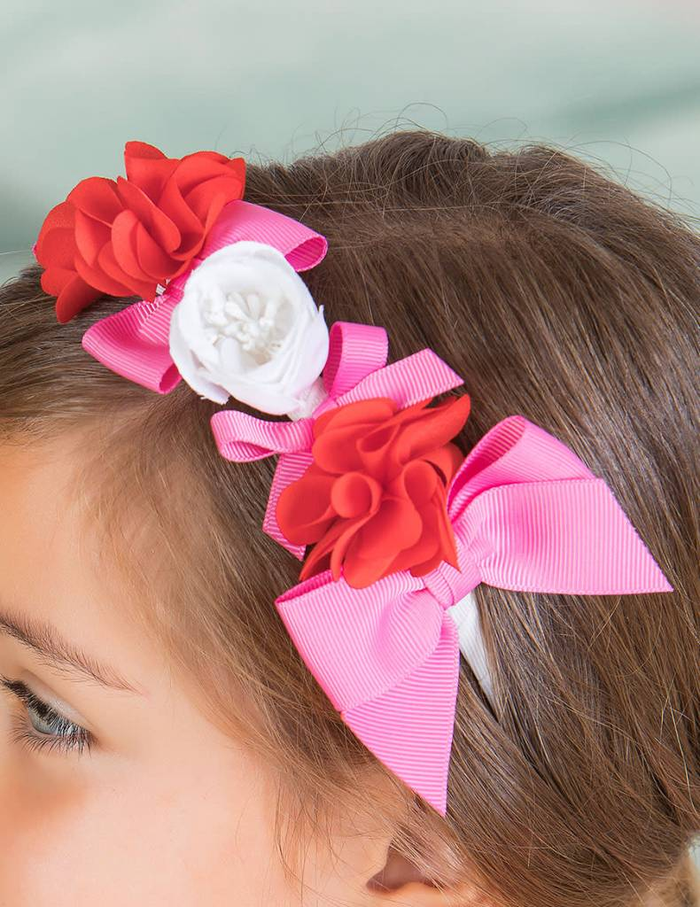 Abel & Lula Flower Headband