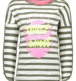B.Nosy Long Sleeve Stripe Shirt