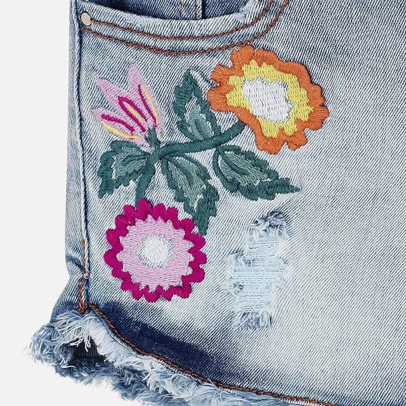 Mayoral Flower Jeans