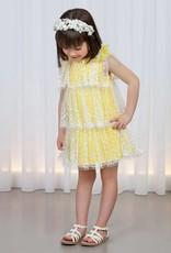 Abel & Lula Tulle Sequin Dress