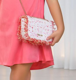 Abel & Lula Chenille Handbag