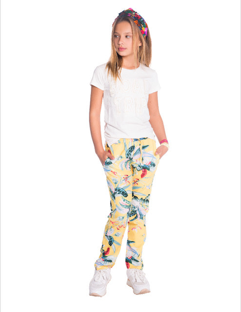 Indian Blue Jeans Flower Pants