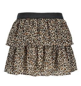 Like Flo Animal Smock Skirt