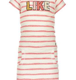 Like Flo Stripe Sweat Dress