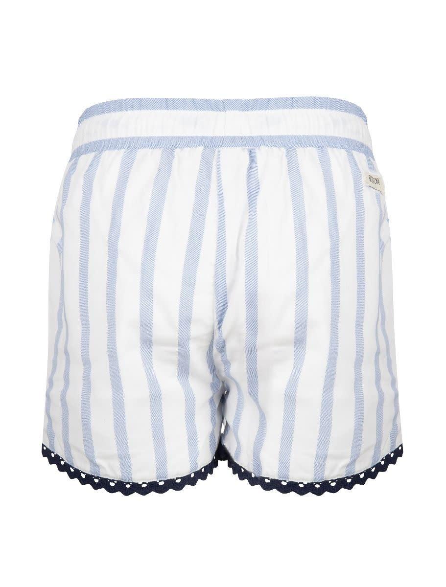 Indian Blue Jeans Stripes Shorts
