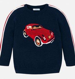 Mayoral Knit Stripes Sweater