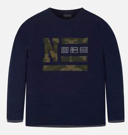 Mayoral Camouflage Sweater