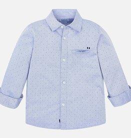 Mayoral Printed Twill Shirt