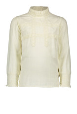 Like Flo Woven Top With Lace
