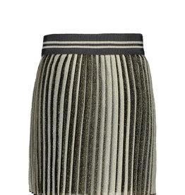 Like Flo Midi Striped Mesh Skirt