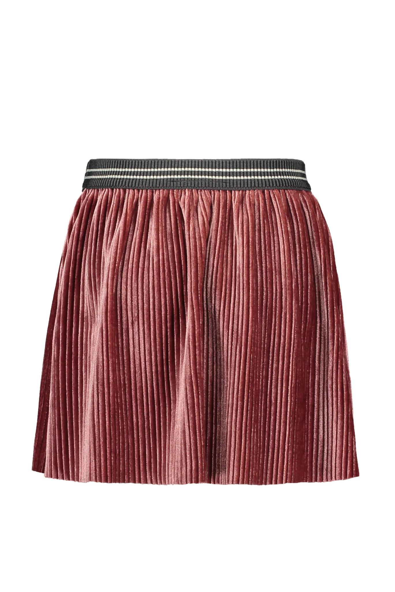 Like Flo Rib Velours Skirt