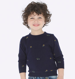 Mayoral Embroired Sweater