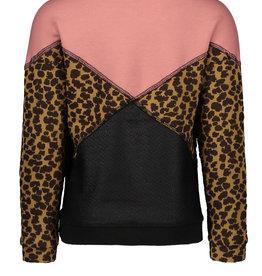 Like Flo Color Block Sweater