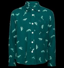 Ao76 Fox Flannel Shirt