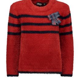 Like Flo Hairy Fine Knit Sweter