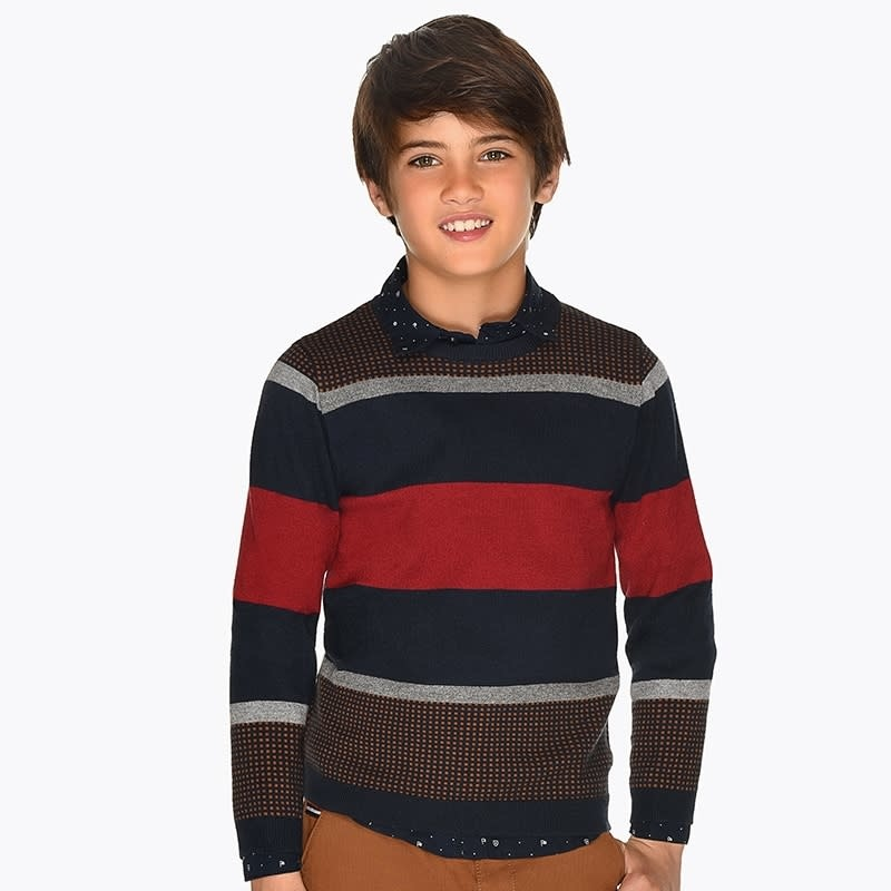 Mayoral Stripes Sweater