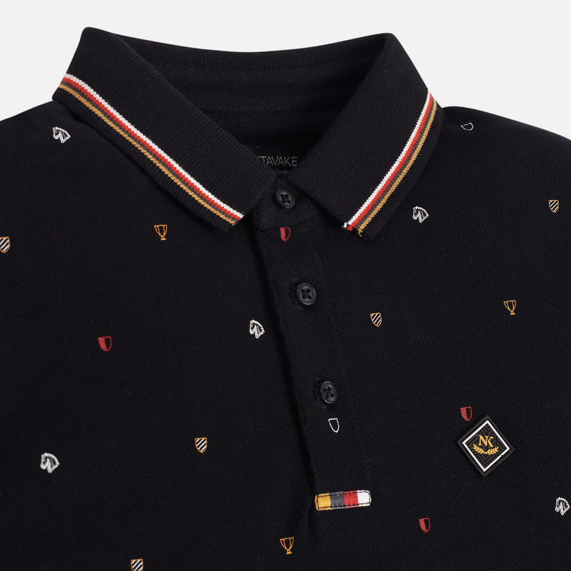 Mayoral L/S Printed Polo