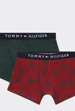 Tommy Hilfiger 2P Boxershorts Met Bomenprint