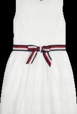 Tommy Hilfiger Lace Stripe Dress