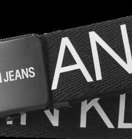 Calvin Klein Jeans Canvas Logo Belt