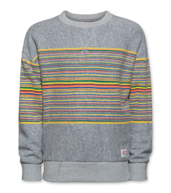 Ao76 Oversized Sweater Stripes