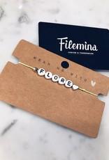 Armbandje 'Flore'