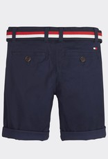 Tommy Hilfiger Belted Chino Shorts