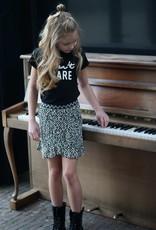 Like Flo AO Ruffle Woven Skirt