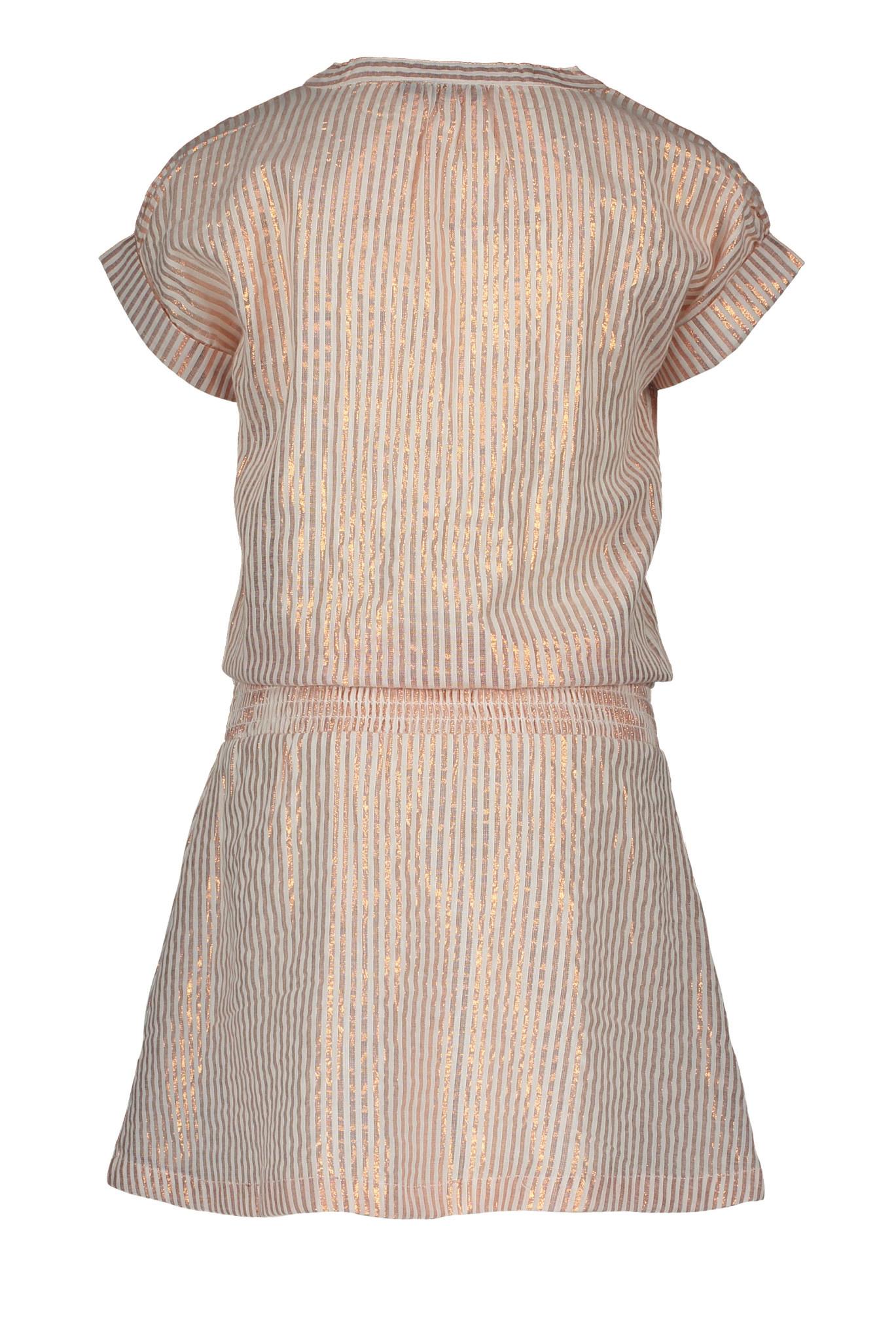 Like Flo Lurex Stripe Dress