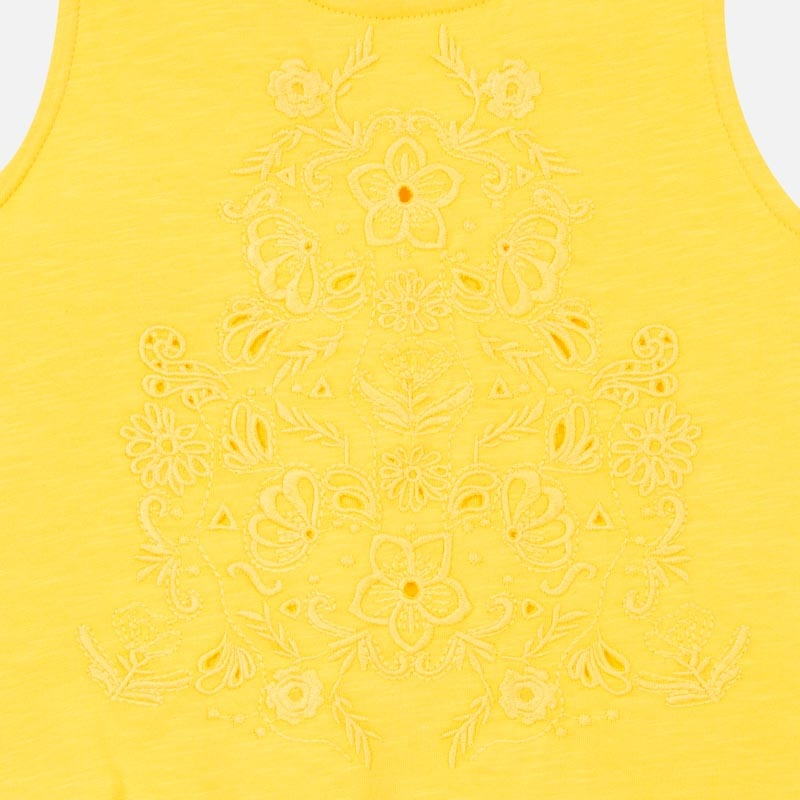 Mayoral Embroidered Tank Top