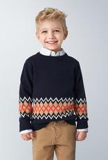 Mayoral Jaquard Sweater