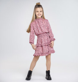 Satin Printed Dress